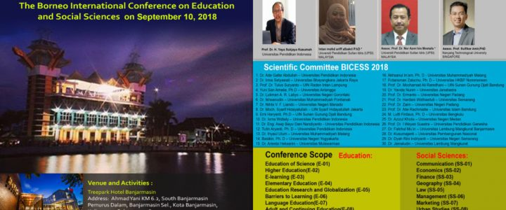 Borneo International Conference on Education and Social Science (BICESS 2018)